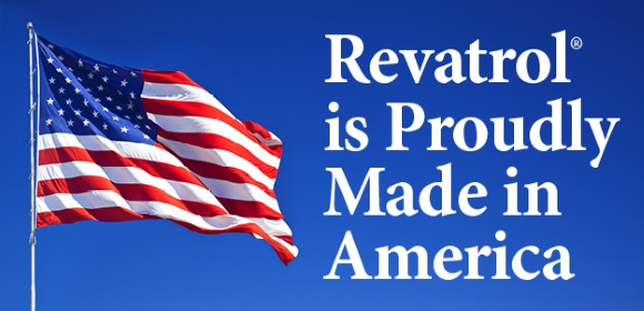[Revatrol is Proudly Made in America]